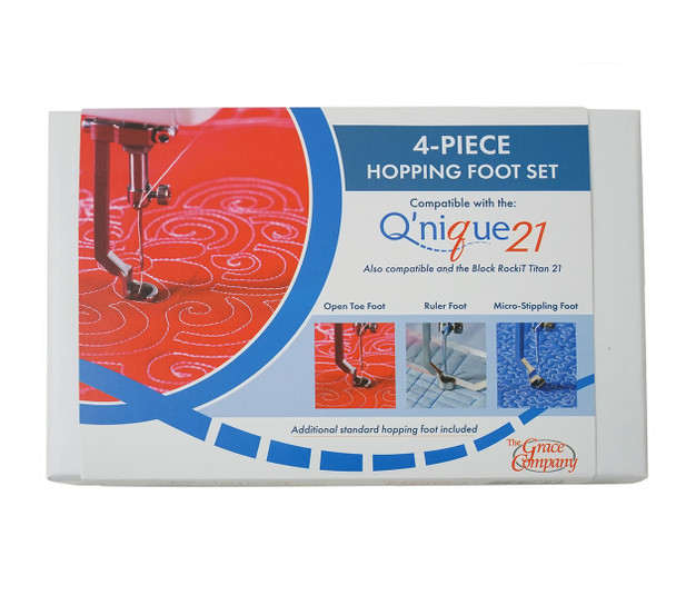 Grace Q'Nique 21 4-Piece Hopping Foot Set