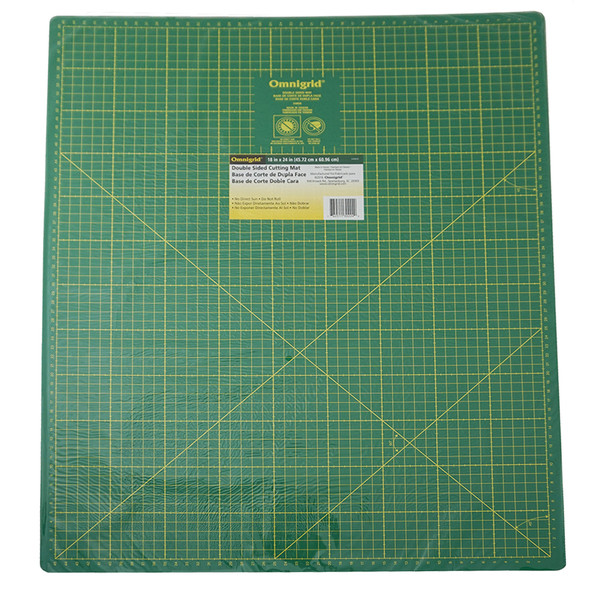 Omnigrid Cutting Mat - Double Sided 18in x 24in