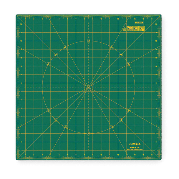 Olfa Spinning Square Cutting Mat 12in