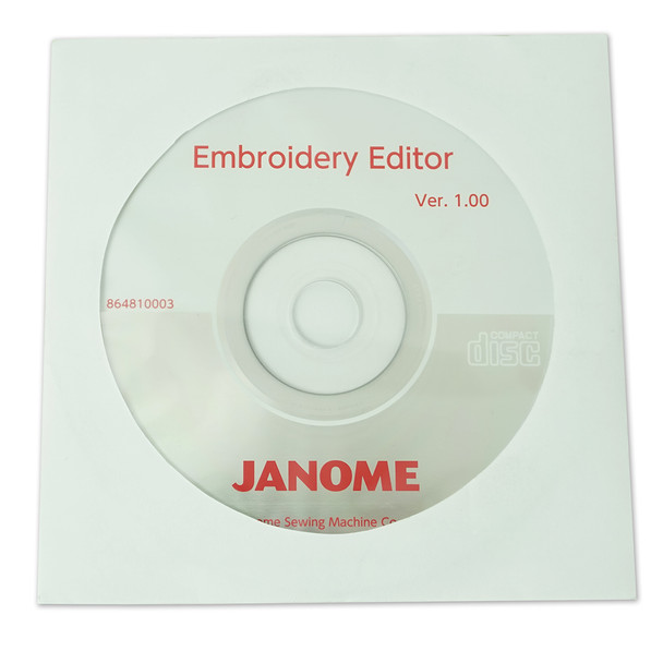 Janome Embroidery Editor CD-ROM