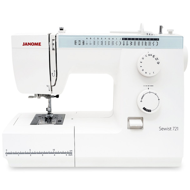 Janome Sewist 721 Sewing Machine with Bonus Bundle