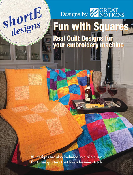 dime Fun with Squares shortE Designs