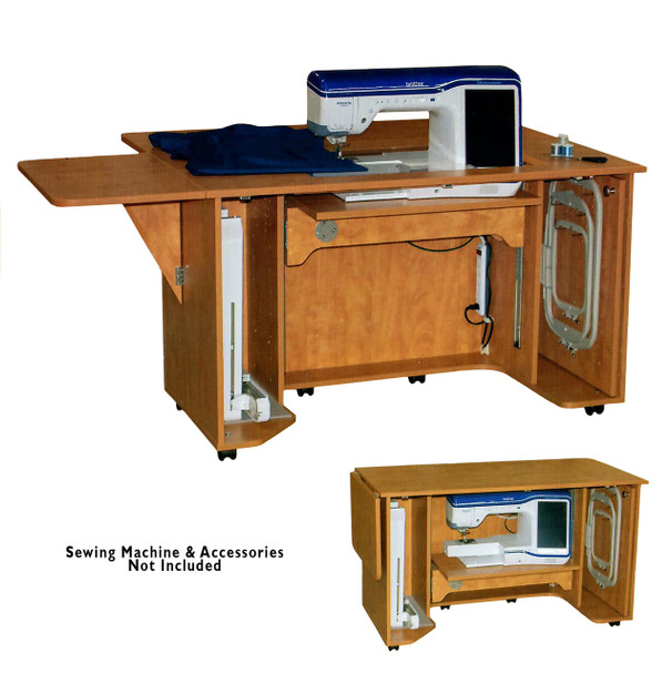 Horn 8030 Elecrtic Lift Sewing Quilting and Embroidery Cabinet