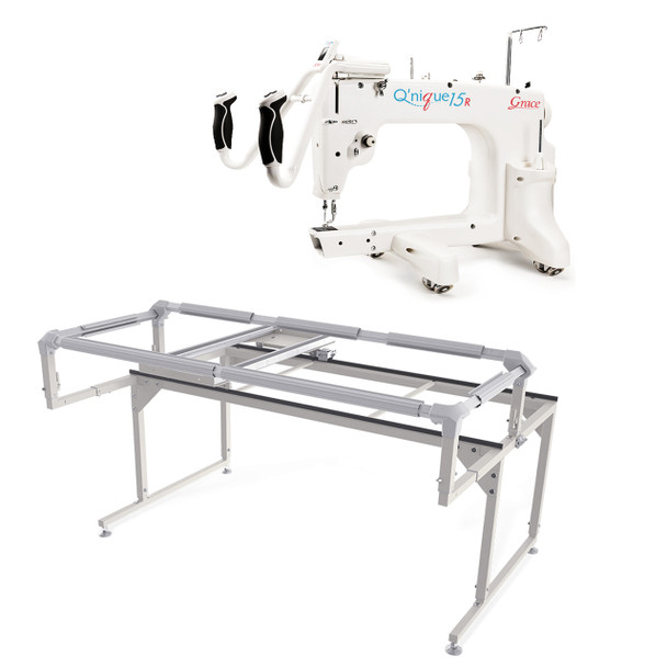 Grace Q'nique 15R Midarm Quilting Machine with Q-Zone Hoop Frame