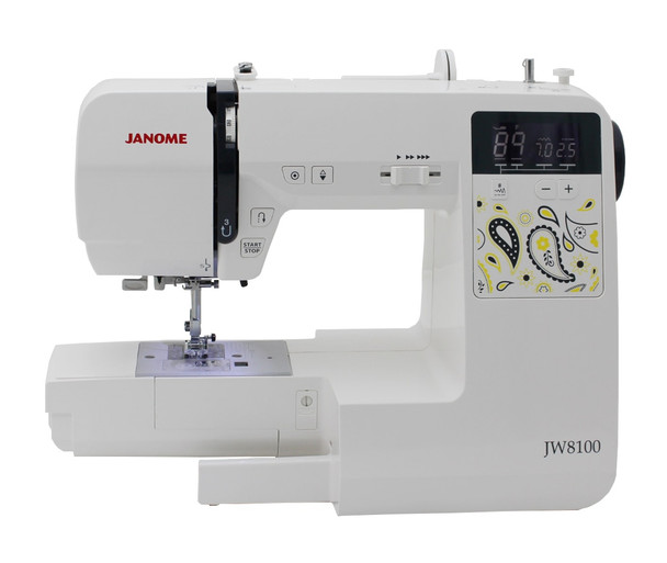 Janome JW8100 Computerized Sewing Machine With Bonus Bundle