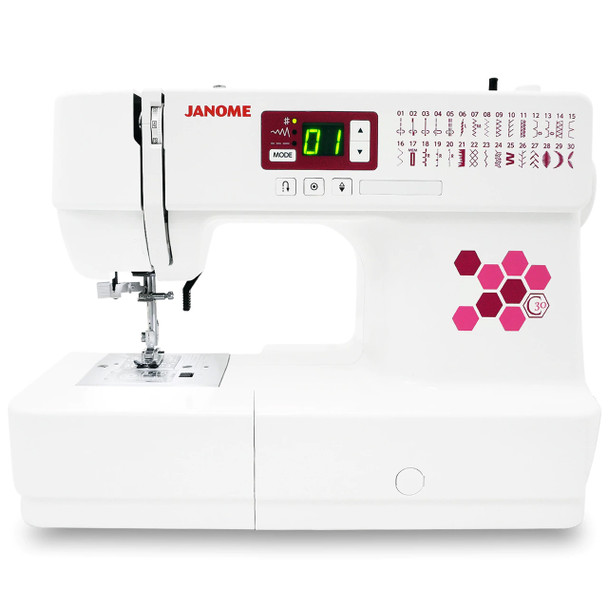 Janome C30 Computer Sewing Machine with Bonus Bundle