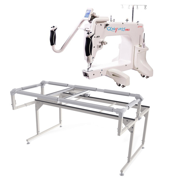 Grace Q'nique 15 Pro Midarm Quilting Machine with Q-Zone Hoop Frame
