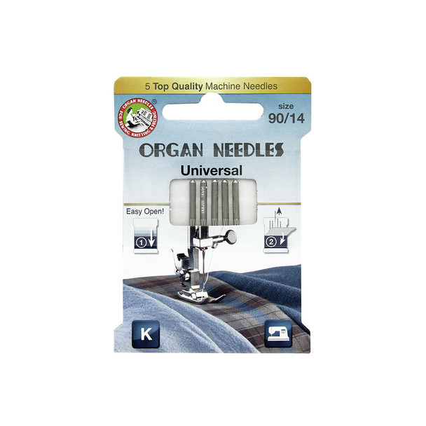Organ ECO Needles Universal Size 90/14 - 5 Needles Per Pack