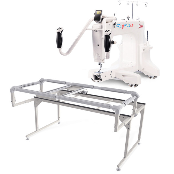Grace Q'Nique 15M Quilting Machine with Q-Zone Hoop Frame