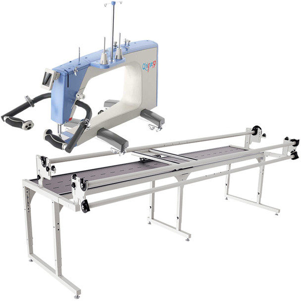 Grace Q'Nique 19 Longarm Quilting Machine with Continuum 10' Quilting Frame