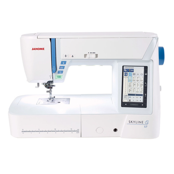 Janome Skyline S7 Computerized Sewing and Quilting Machine
