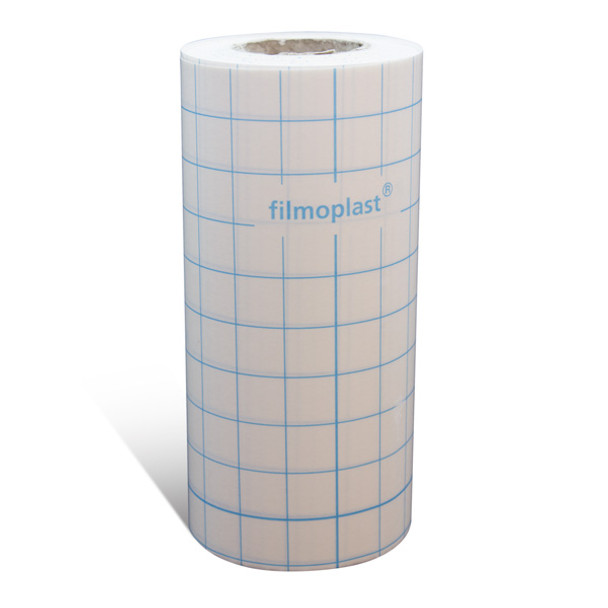 "Filmoplast Adhesive Backing - 8"" x 27 ys. Roll"