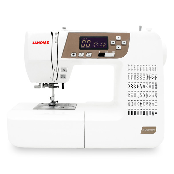 Janome 3160QDC-B Sewing and Quilting Machine