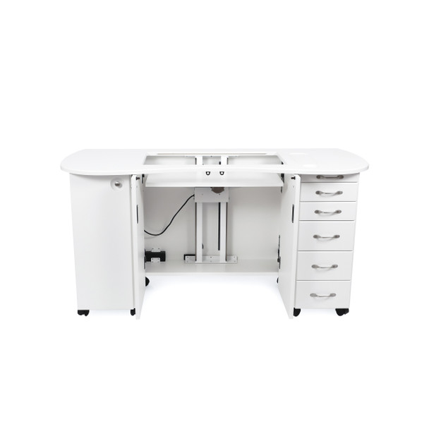 Americana R6101 Betsy Sewing Cabinet in White