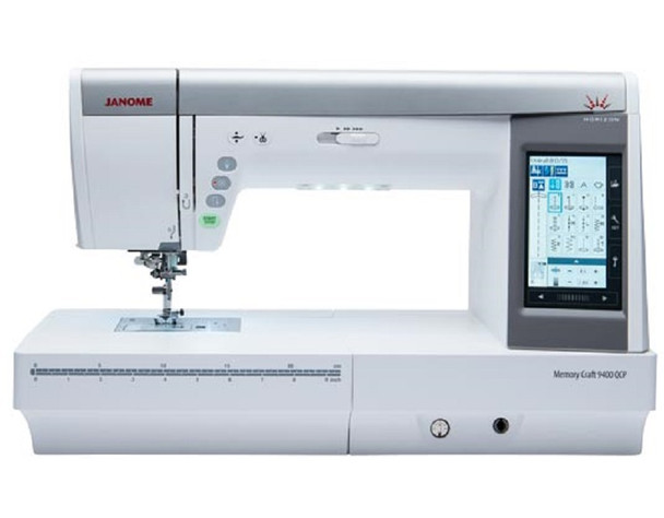 Janome MC9400QCP Computerized Sewing Machine - Factory Refurbished