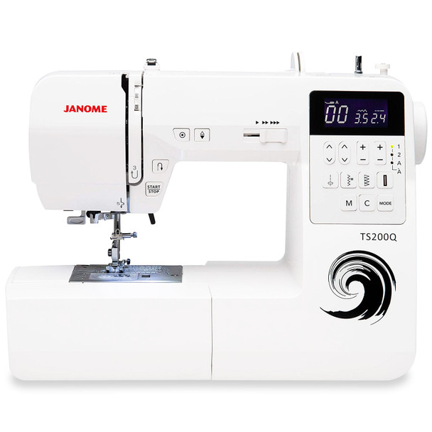 Janome TS200Q Sewing and Quilting Machine With Bonus Accessories