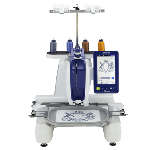 Brother Persona Single Needle Embroidery Machine front view