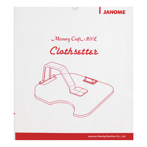 Janome Memory Craft Clothsetter 200E