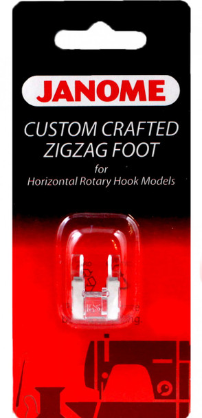 Janome Top-Load - Custom Crafted Zigzag Foot