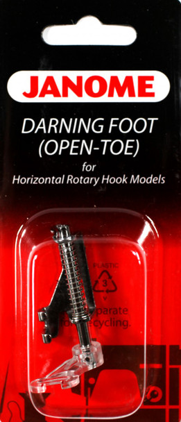 Janome Top-Load - Darning Foot (Open Toe)