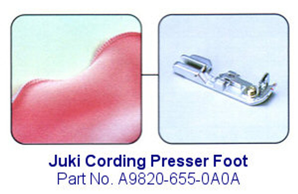 Juki Cording Serger Foot - Fits MO-600, MO-700, MO-104D and MO-114D Sergers