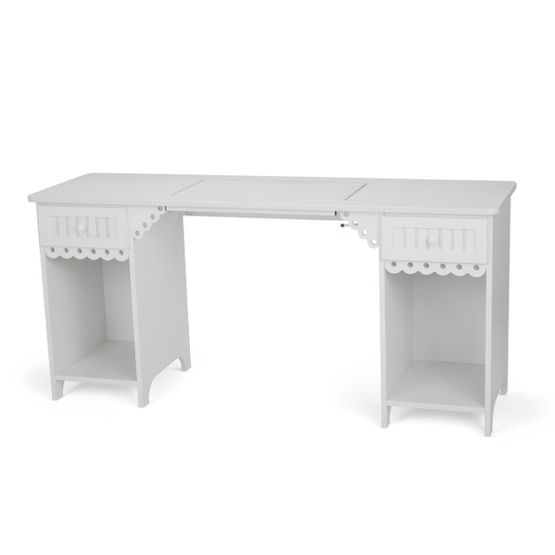 Arrow 1001DL Olivia Sewing Cabinet in White
