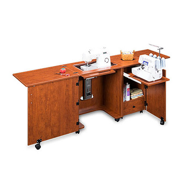 Sylvia Design Sewing Furniture - Model 1000 Sewing / Serger Cabinet