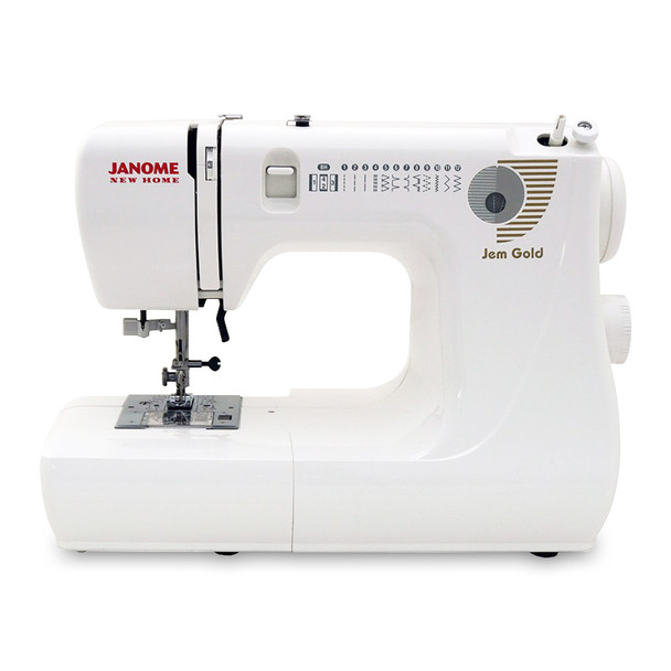 Janome Jem Gold 660 Sewing Machine Bonus Bundle