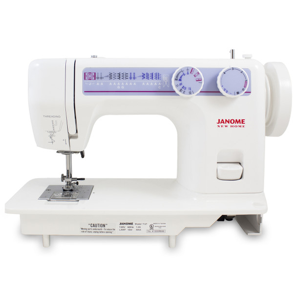 Janome 712T Treadle Sewing Machine - Front View