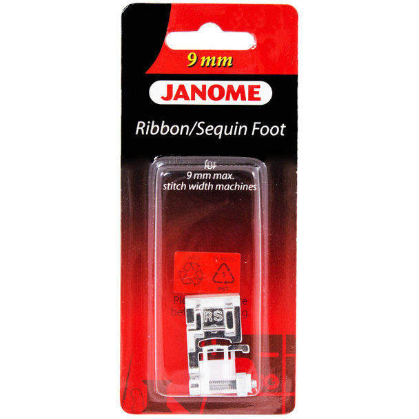 Janome Ribbon and Sequin Foot for 9mm Machines