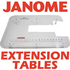 Janome Etension Tables