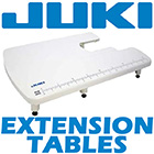 Juki Extension Tables