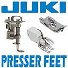 juki presser feet