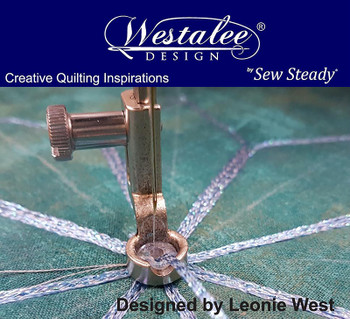 Sew Steady Westalee Decorative Thread Couching Ruler Foot