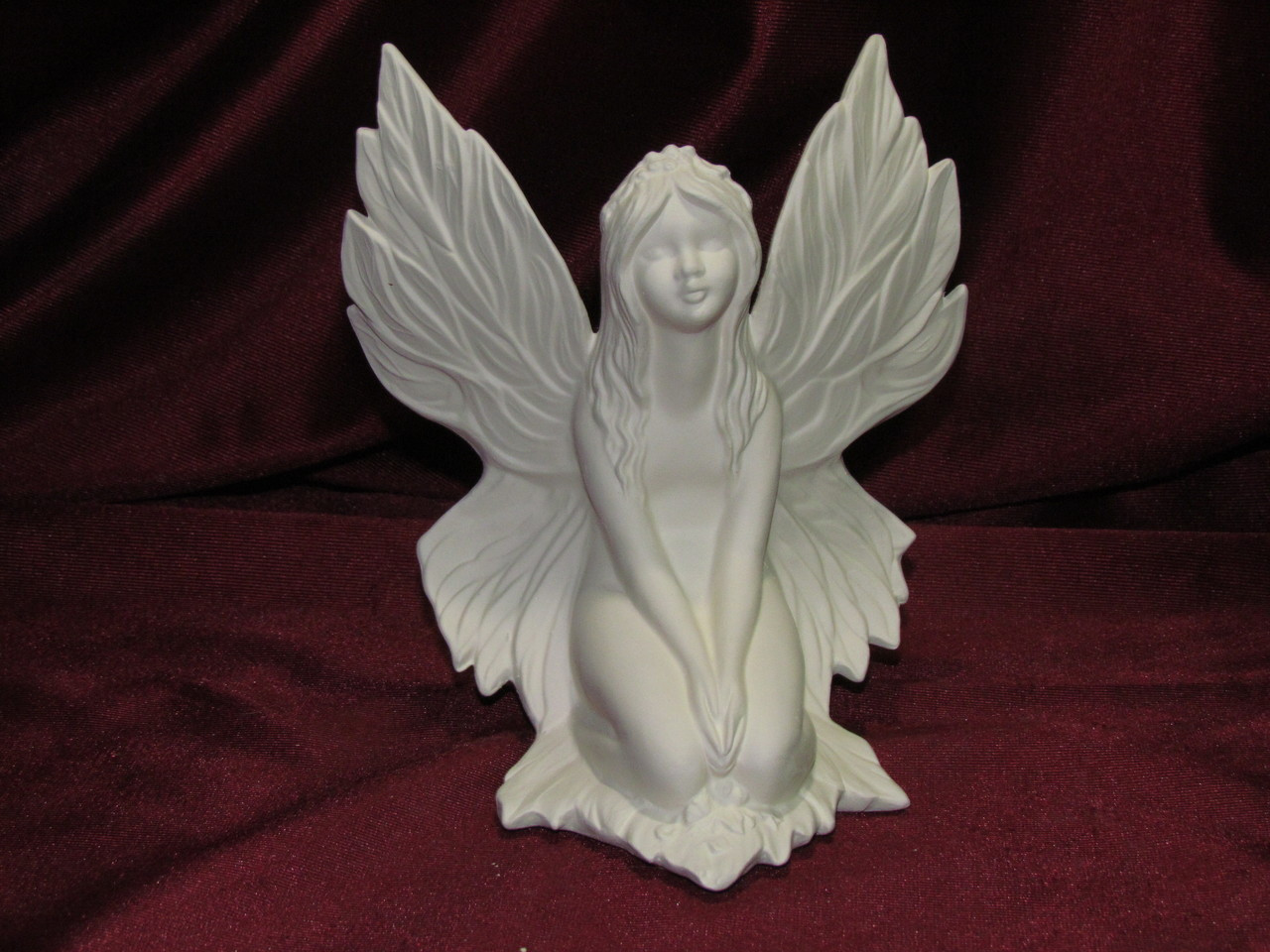 Ceramic Bisque Gare Autumn Fall Fairy unpainted ready to paint