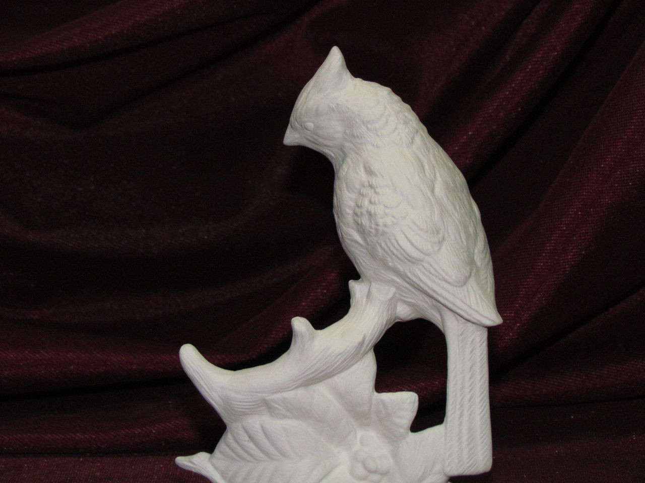Hunting bird Unpainted Ceramic Quail Bird 6 Tall Ready to paint Ceramics Art Project Unfinished Bisque Home Decor Autumn Quail