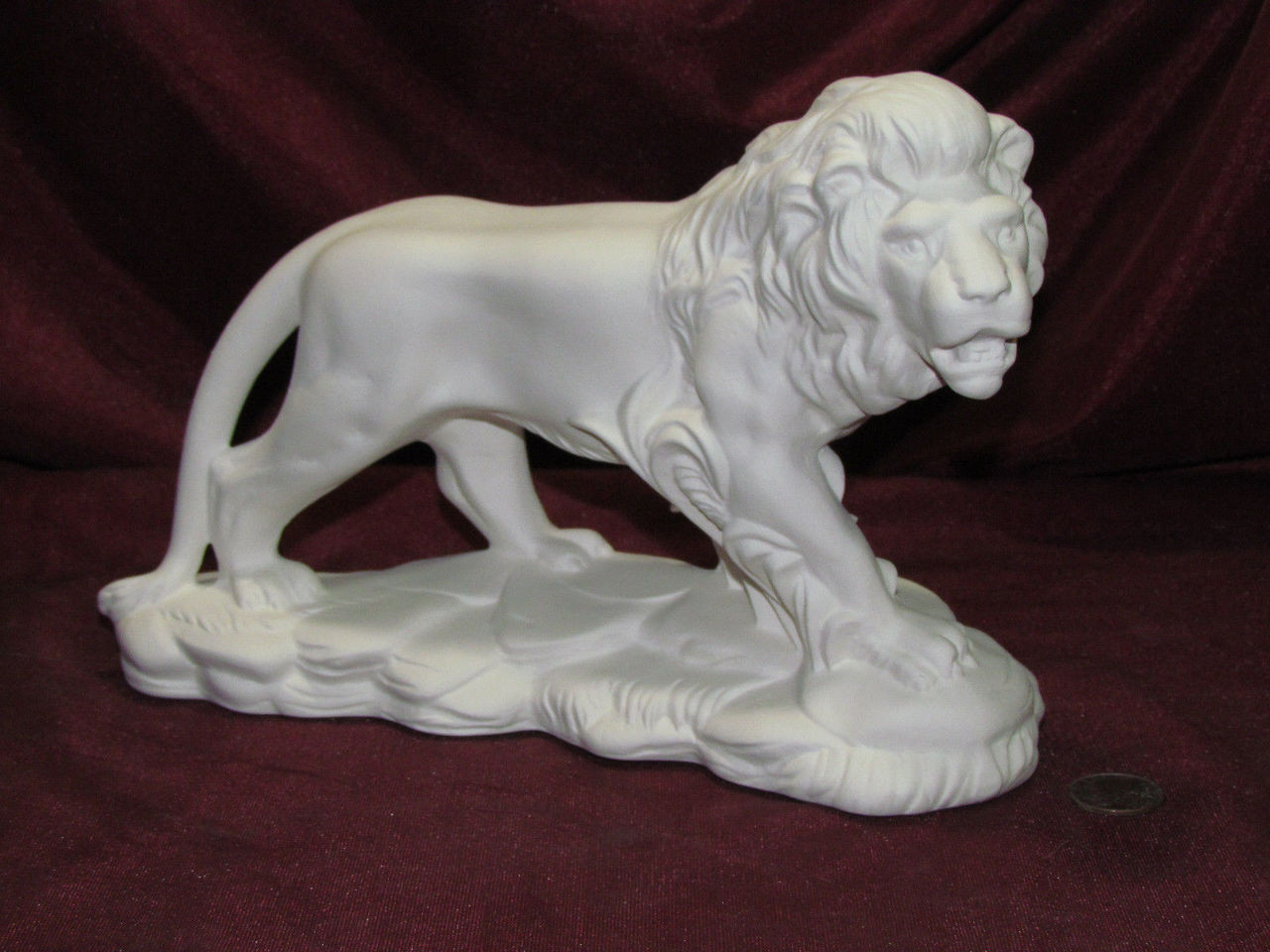 Laying Down LION   *Ceramic Bisque Ready to Paint