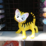 Bobble head cat painted and finished by a valued customer
