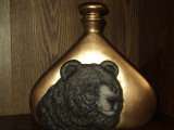 Bear decanter painted and finished by a valued customer