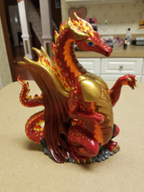 Dragon painted and finished by a valued customer