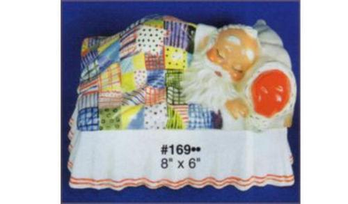 Ceramic Bisque U-Paint Alberta Santa Claus Box ~ Night After Christmas Box Unpainted Ready To Paint DIY