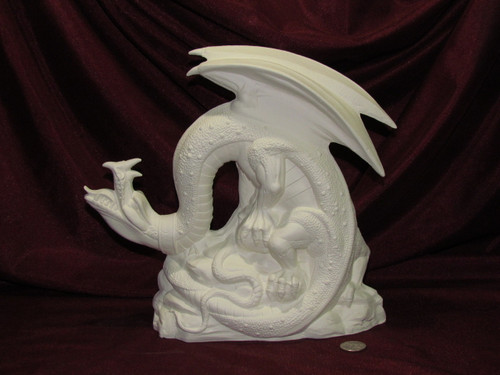 Dragon Trainee - Ready To Paint Ceramic Bisque