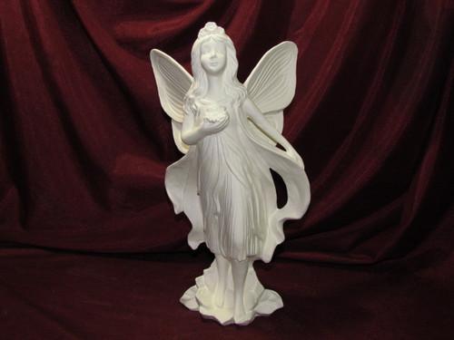 Ceramic Bisque Gare Fairy Princess pyop unpainted ready to paint diy