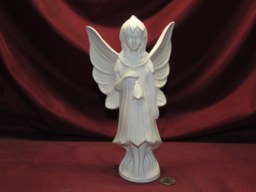 Ceramic Bisque Gare Bluebell Fairy pyop unpainted ready to paint diy