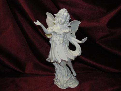 Ceramic Bisque Gare Foxglove Fairy unpainted ready to paint