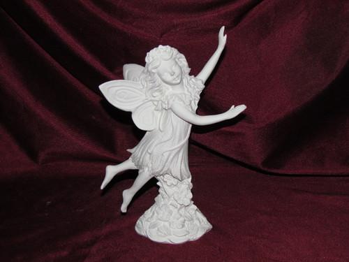 Ceramic Bisque Gare Impatience Fairy  pyop unpainted ready to paint diy