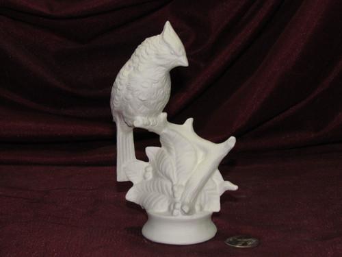Ceramic Bisque Cardinal Bird pyop unpainted ready to paint diy