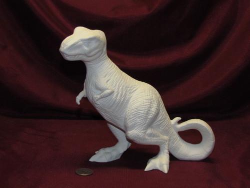 Ceramic Bisque Tyrannosaurus Rex pyop unpainted ready to paint diy