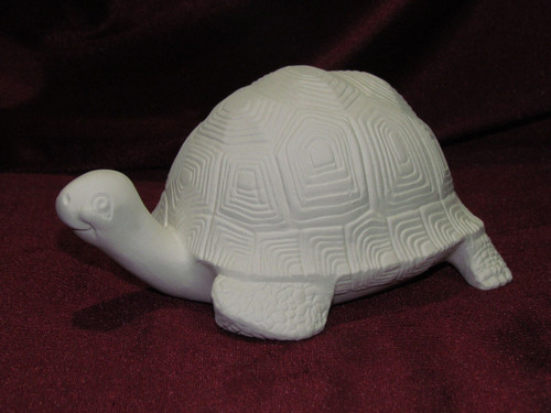 Ceramic Bisque Turtle pyop unpainted ready to paint diy