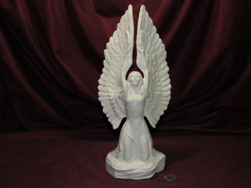 Ceramic Bisque Native American Eagle Princess